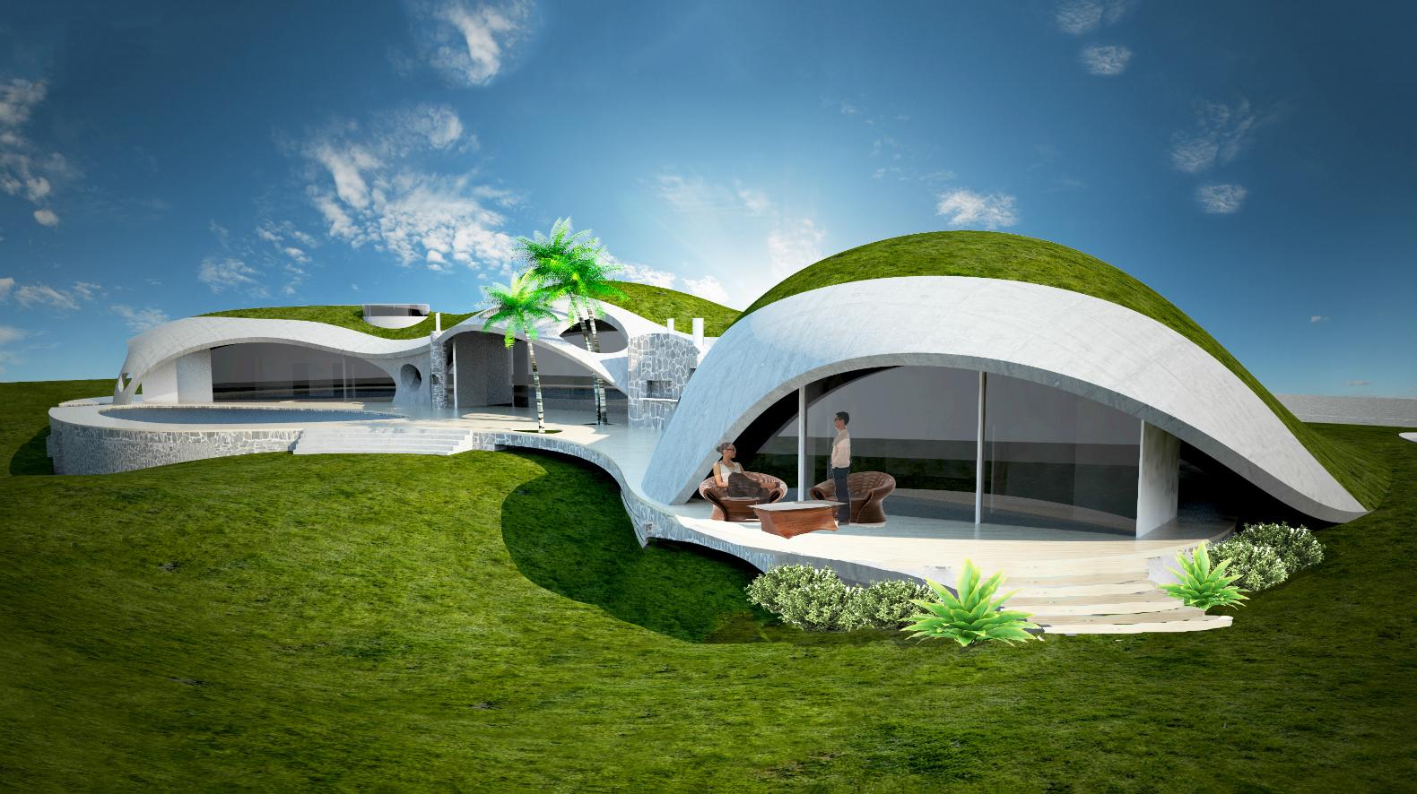 Дом будущего в картинках