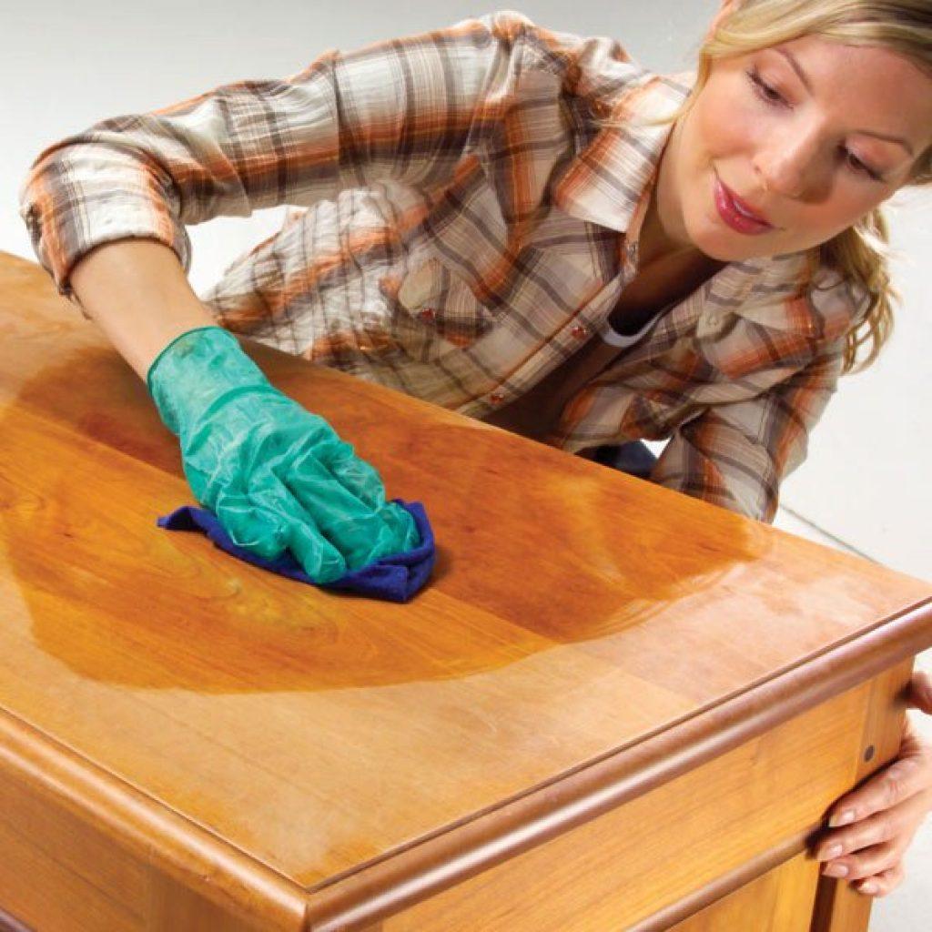 Richtige Pflege von Möbeln