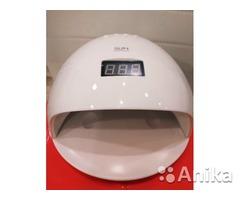 Гибридная Новая  SUN5S лампа 48вт с сенсором