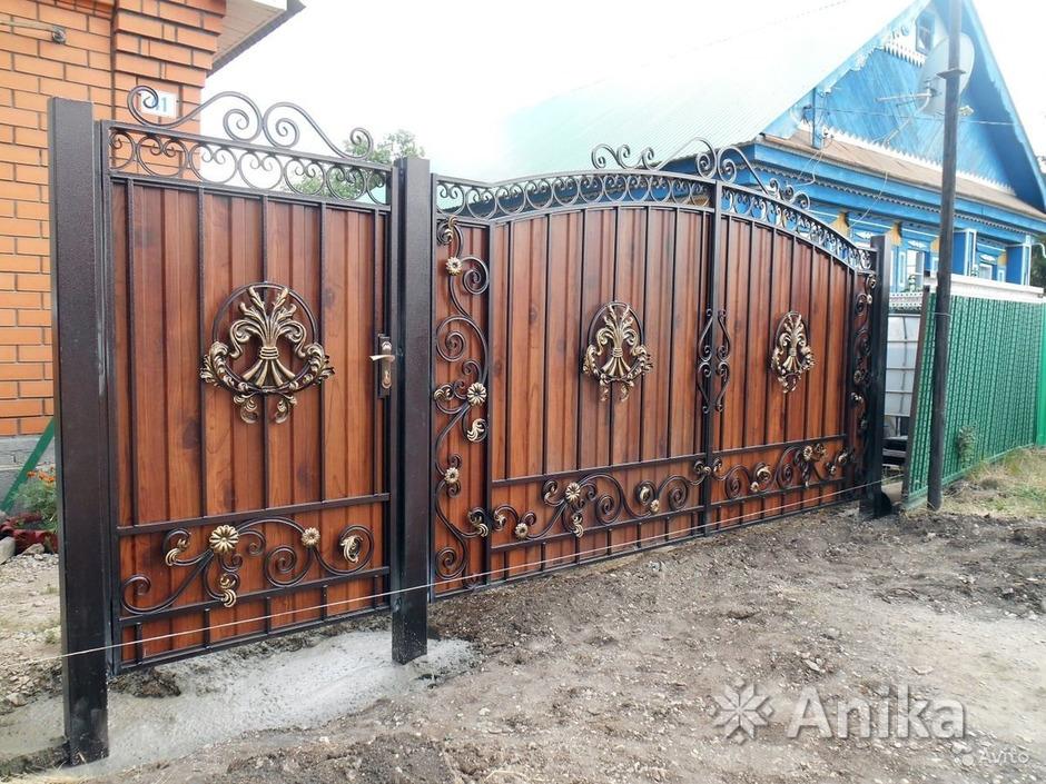 Кованые ворота и калитки - 1