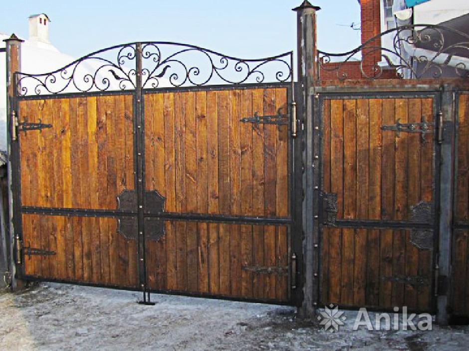 Кованые ворота и калитки - 3