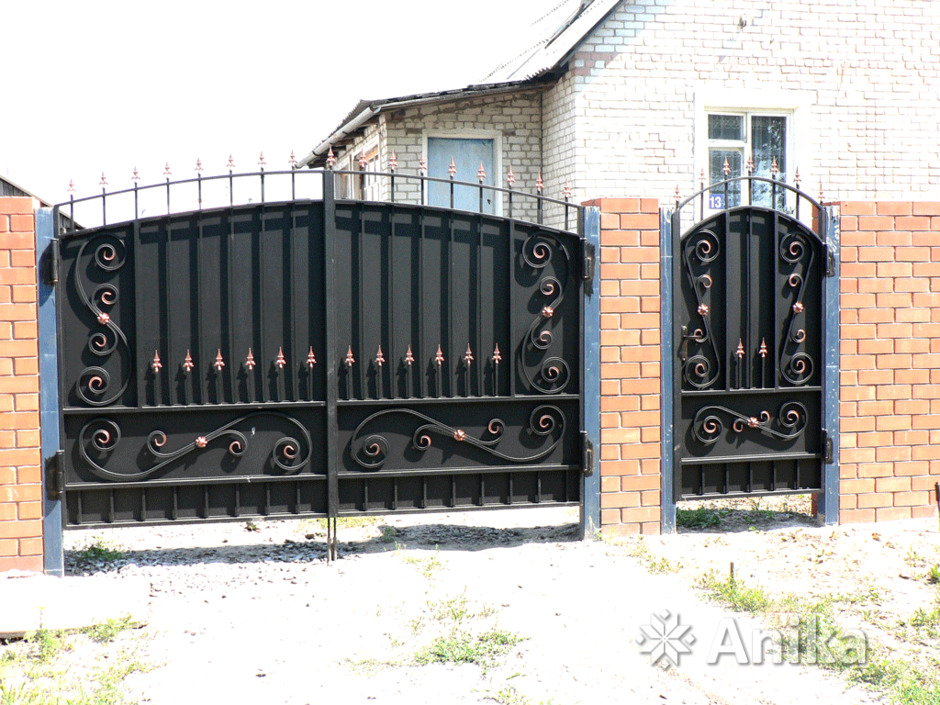 Кованые ворота и калитки - 4