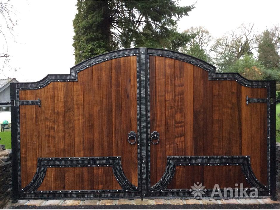 Кованые ворота и калитки - 5