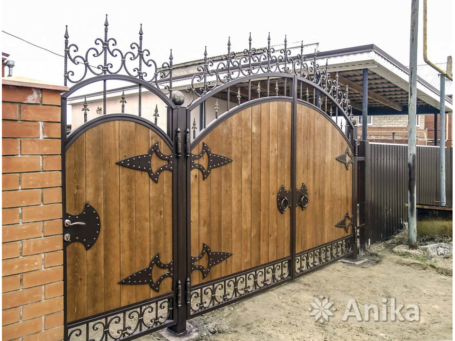Кованые ворота и калитки - 8