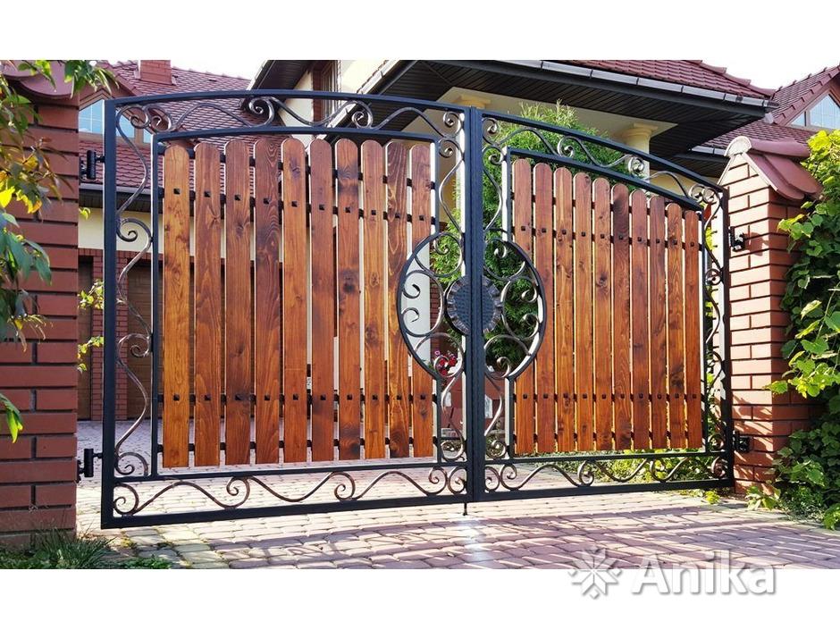 Кованые ворота и калитки - 9