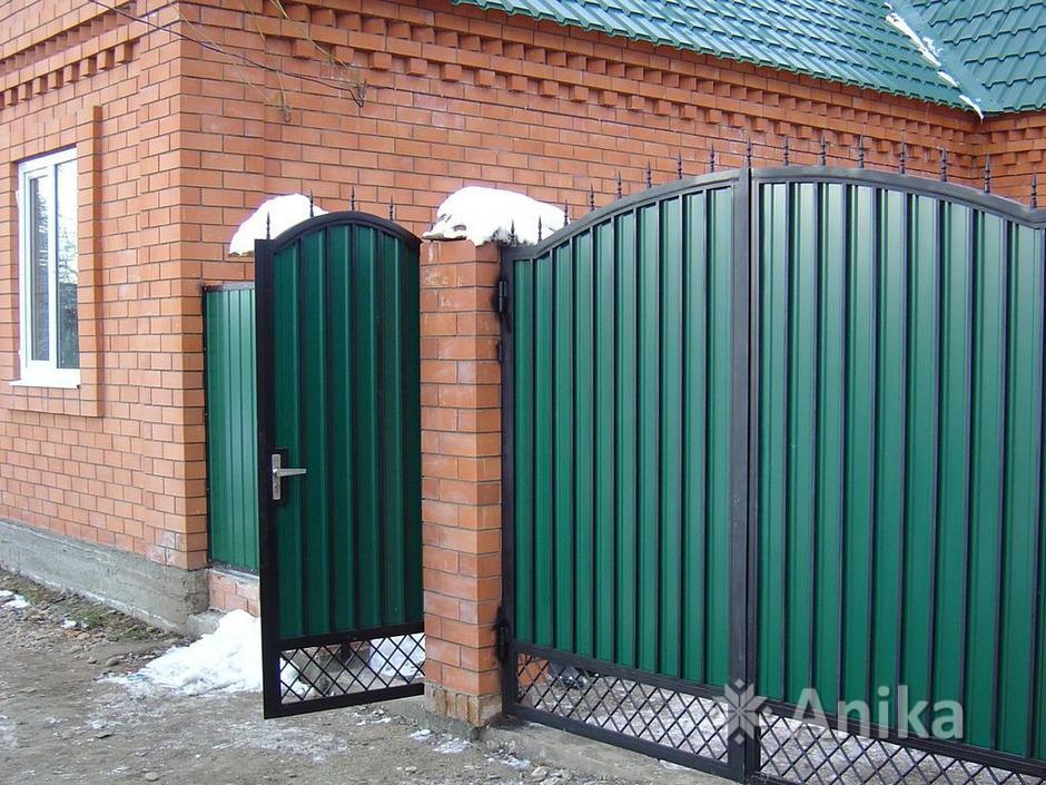 Кованые ворота и калитки - 12