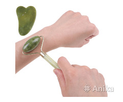 Роликовый массажер и камень для массажа
