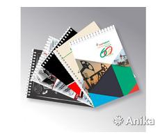 Визитки, листовки, блокноты, буклеты, календари