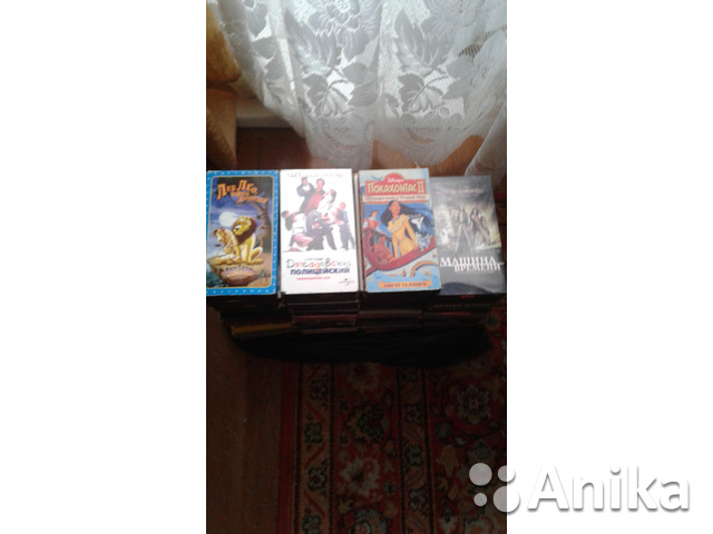 Видеомагнитофон Panasonic NV-P05REEN + 51 кассет - 2/2