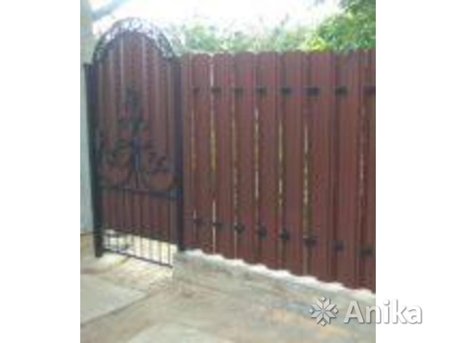 Забор, ворота, калитка. Изготовление и монтаж - 1