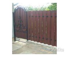 Забор, ворота, калитка. Изготовление и монтаж