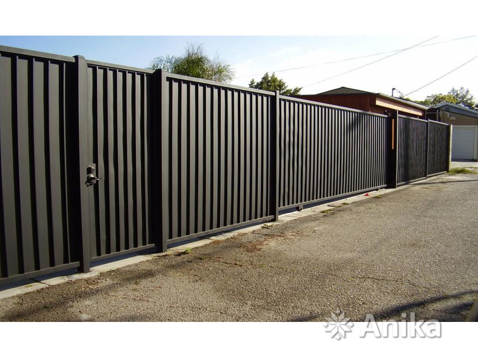 Забор, ворота, калитка. Изготовление и монтаж - 2