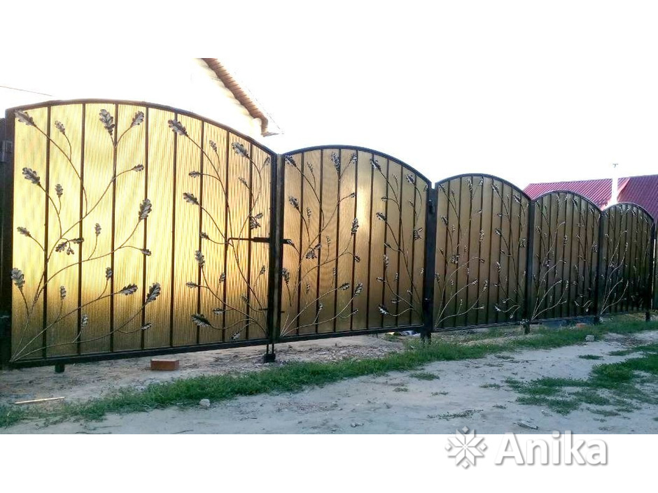 Забор, ворота, калитка. Изготовление и монтаж - 6