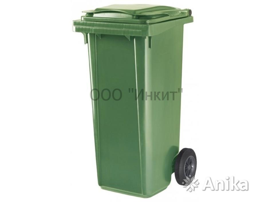 Мусорный контейнер ese 120 л зеленый (Германия). - 1