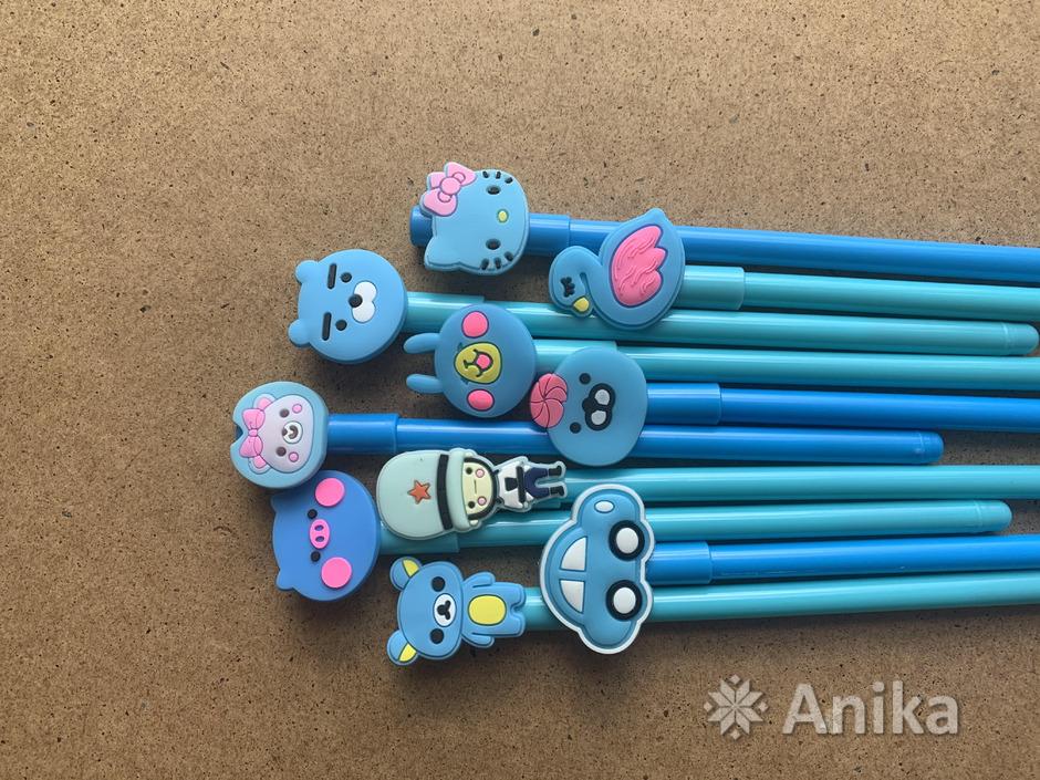 Ручки чёрные гелевые - 1