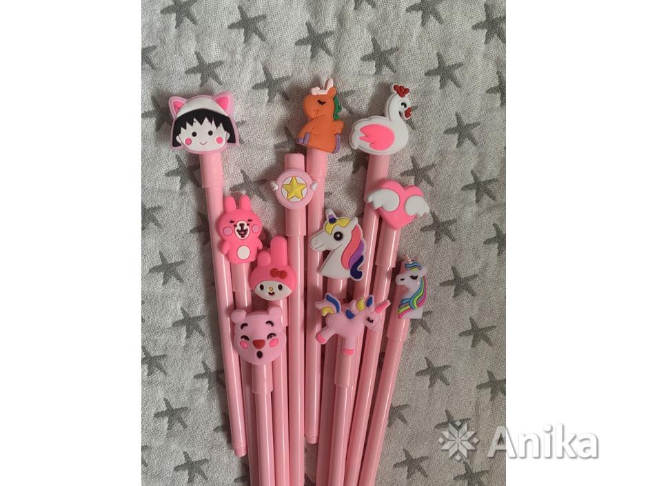 Ручки чёрные гелевые дешево - 2