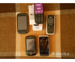Мобильники, запчасти, аккумуляторы, бамперы