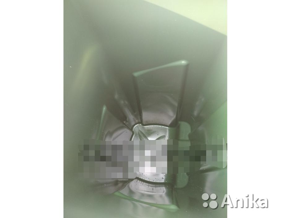 Мусорный контейнер на 120 литров зеленый - 4