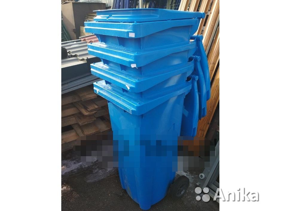 Контейнер для мусора синий - 2