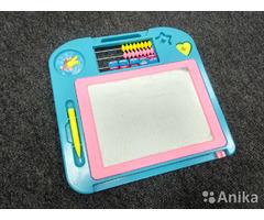 Детская доска для рисования с магнитом