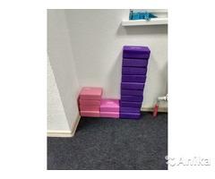 Блоки для йоги и фитнеса
