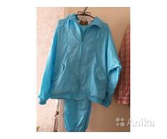 Спортивный голубой костюм, р.48-50, новый