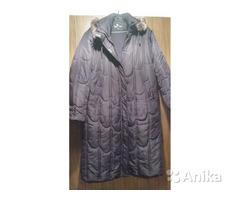 Пальто демисезон. на синтепоне с капюшоном,52-56