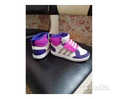 Обалденные фирменные кеды Adidas р. 24