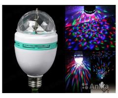 Светодиодная вращающаяся лампа