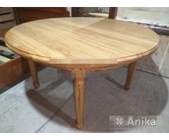Круглый стол из дуба 1400 мм