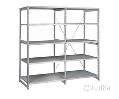 Стеллажи металлические для склада, офиса, гаража