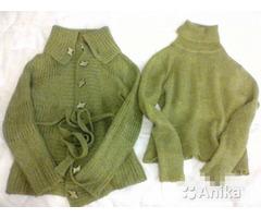 Двойка шерстяная (свитер + кофта)
