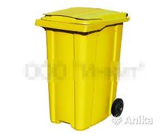 Контейнер мусорный ESE 360 л. желтый