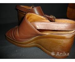 Женские туфли из натурального материала