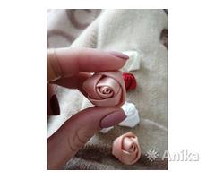 Розы из ленты