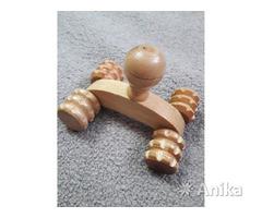 Массажер деревянный