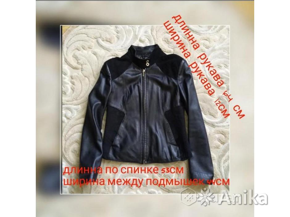 Кожаная куртка женская - 10/10