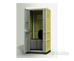 Биотуалет. Уличная туалетная кабина для стройки