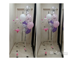 Воздушные гелиевые шары. Композиции из шаров