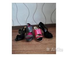 Летняя женская обувь на каблуке 35-36 размер