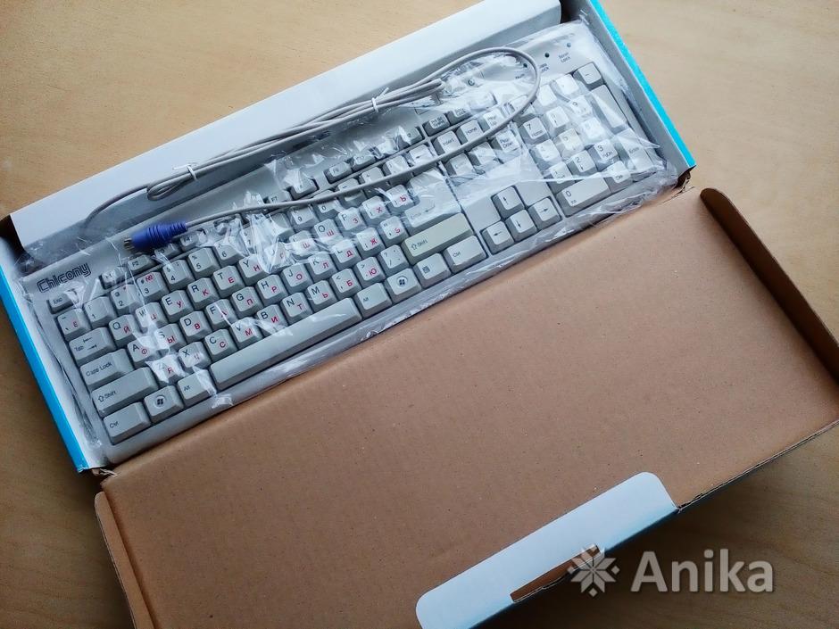 Клавиатуры проводные Chicony КВ-9810 PS2 новые - 3/3