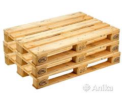 Продажа деревянных поддонов новых и б/у
