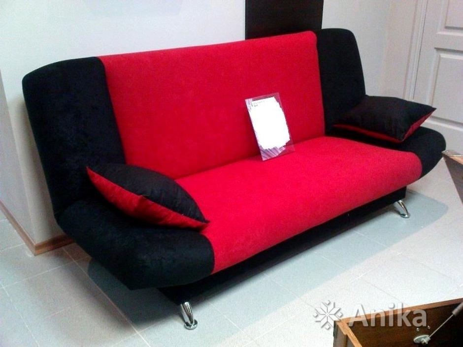 """Диван-кровать """"BARTOSZ MICRO"""" Black Red White - 1/6"""