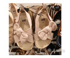 Новые босоножки H&M