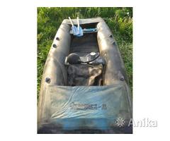 Лодка резиновая двухместная