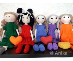 Вязаные куколки в стиле Тильда