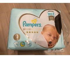 Pampers premium care, 1 ка