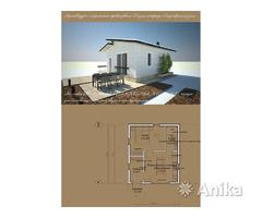 Проект маленького дома, мини-дом (дача, баня)