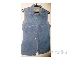 Рубашка джинсовая, р.44-46