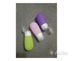 Силиконовые многоразовые бутылочки для косметики